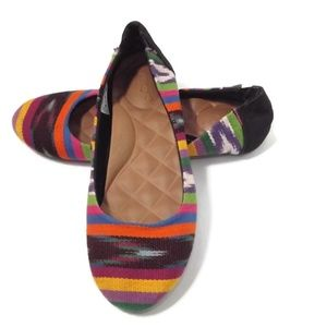 REEF  Cushion Soles CLOTH Multi colored Shoes 7 M